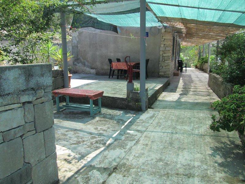 One bedroom house Cove Bristva, Korčula (K-14892), holiday rental in Prigradica