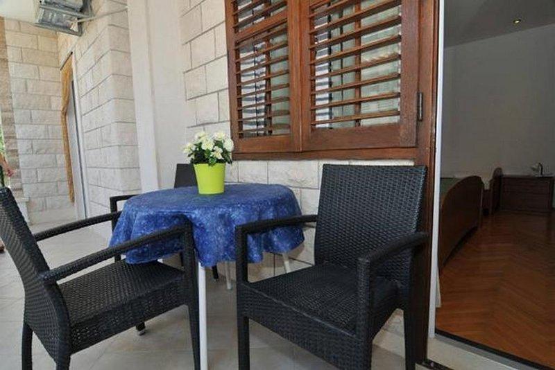 Balkon, oppervlakte: 8 m²