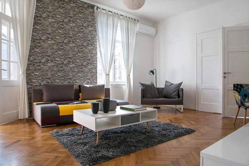 Living room, Surface: 30 m²