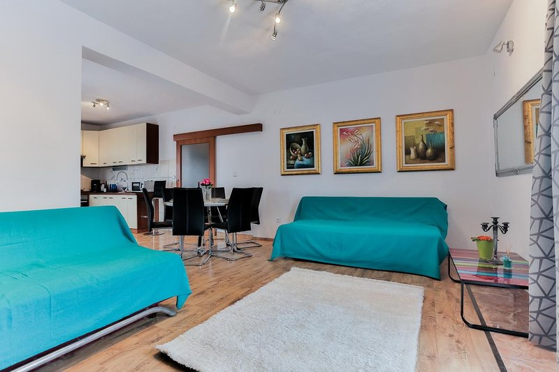 Sala de estar, superficie: 25 m²