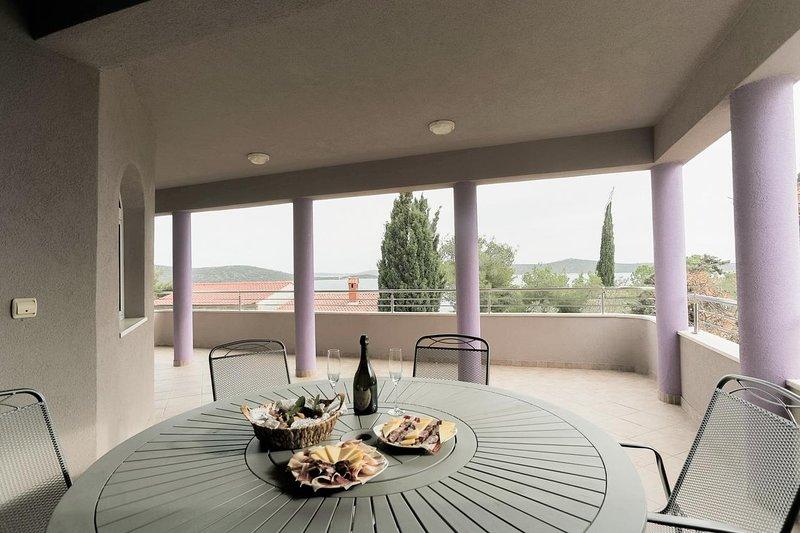 Terraza, Superficie: 40 m²