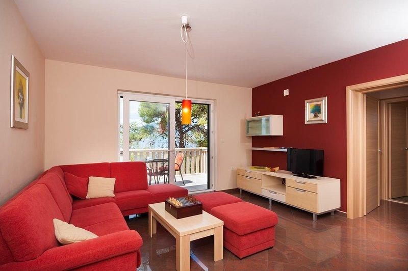 Sala de estar, superficie: 24 m²