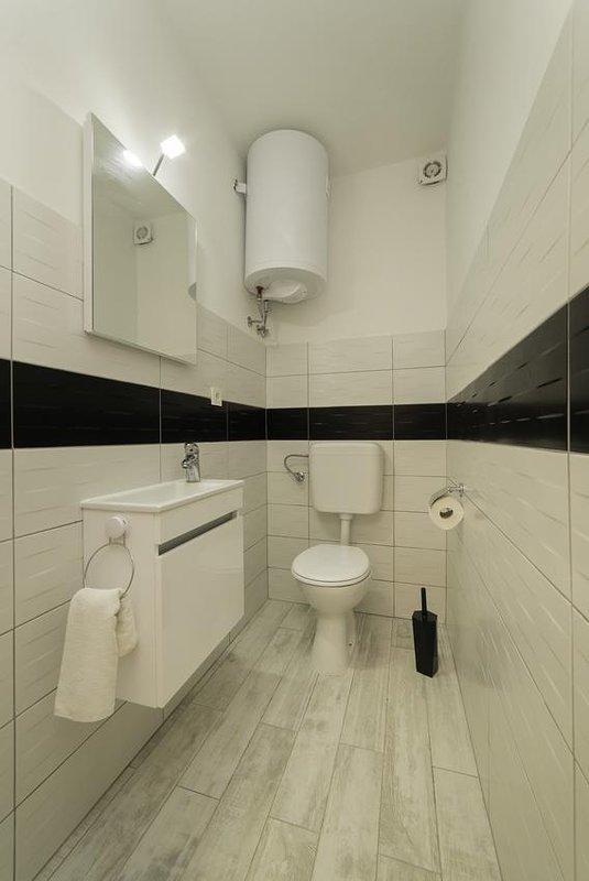 Toilet 3, Superficie: 4 m²
