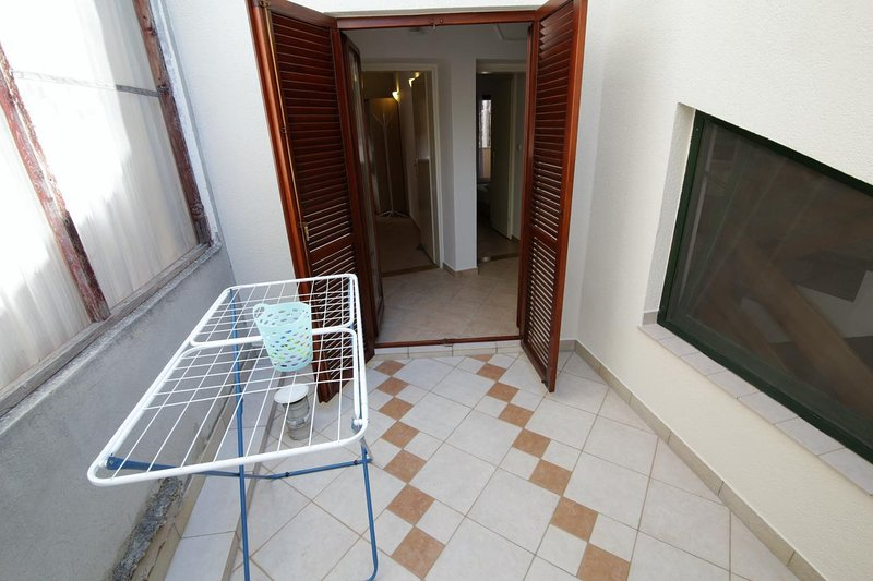 Terrasse 2, surface: 6 m²