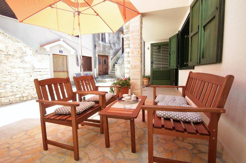 Terrasse 1, Surface: 8 m²