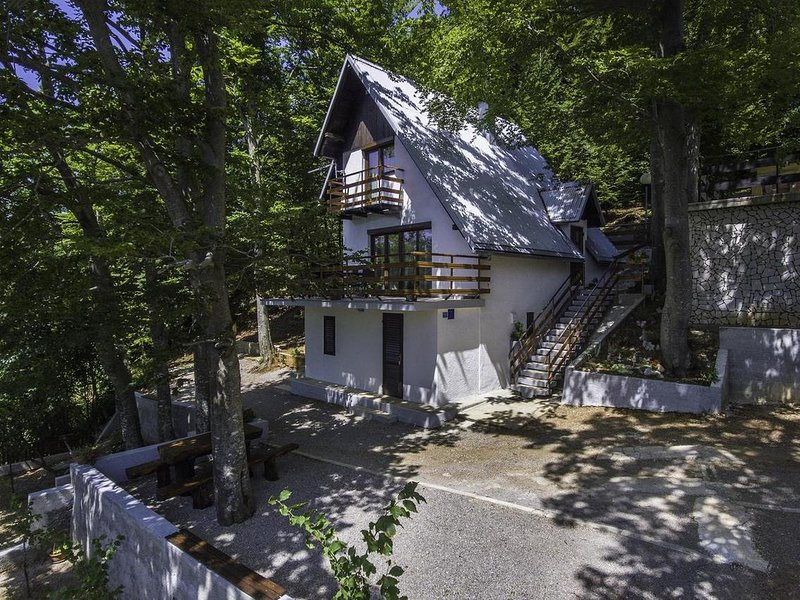 Two bedroom house Zlobin, Gorski kotar (K-15452), holiday rental in Brestova