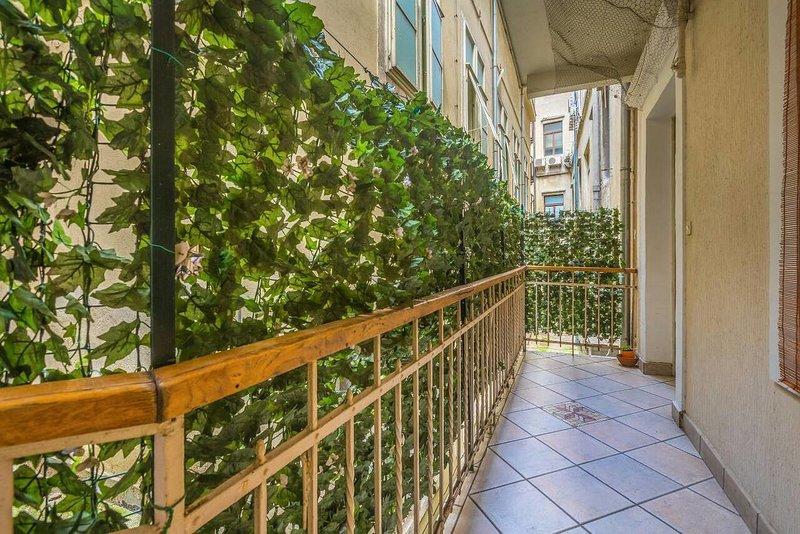 Balcony, Surface: 9 m²