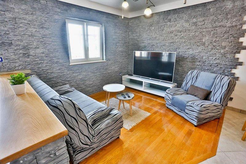 Sala de estar, superficie: 8 m²