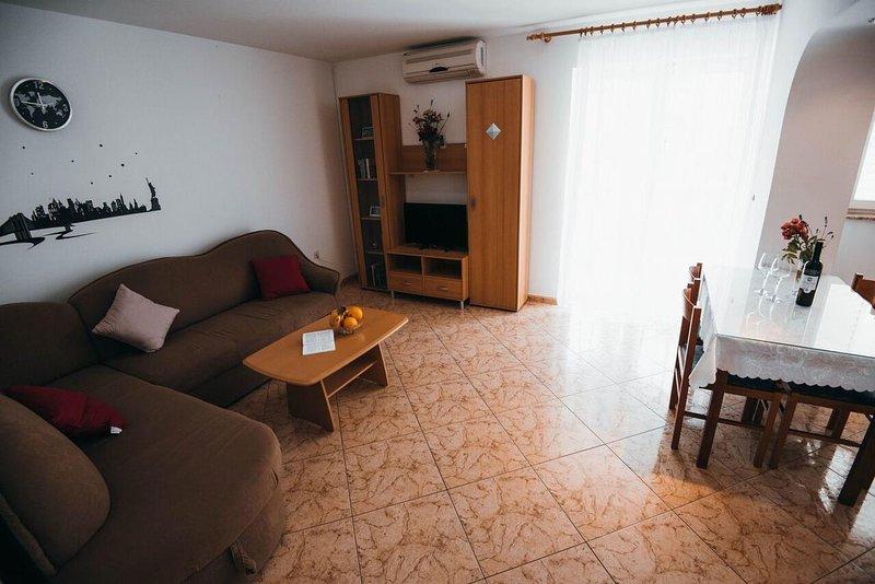 Sala de estar, superficie: 10 m²