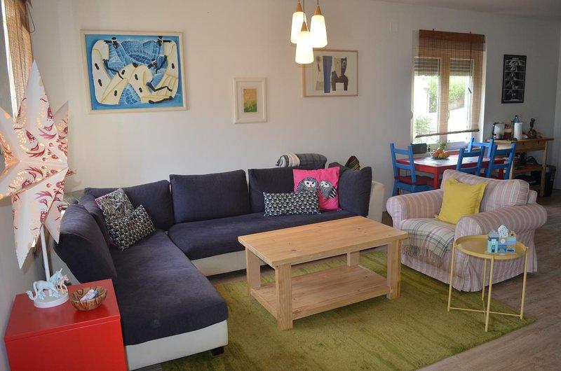 Sala de estar, superficie: 27 m²