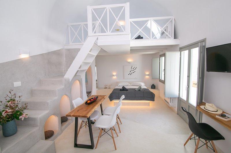 Théros | Shades of White, location de vacances à Vlychada