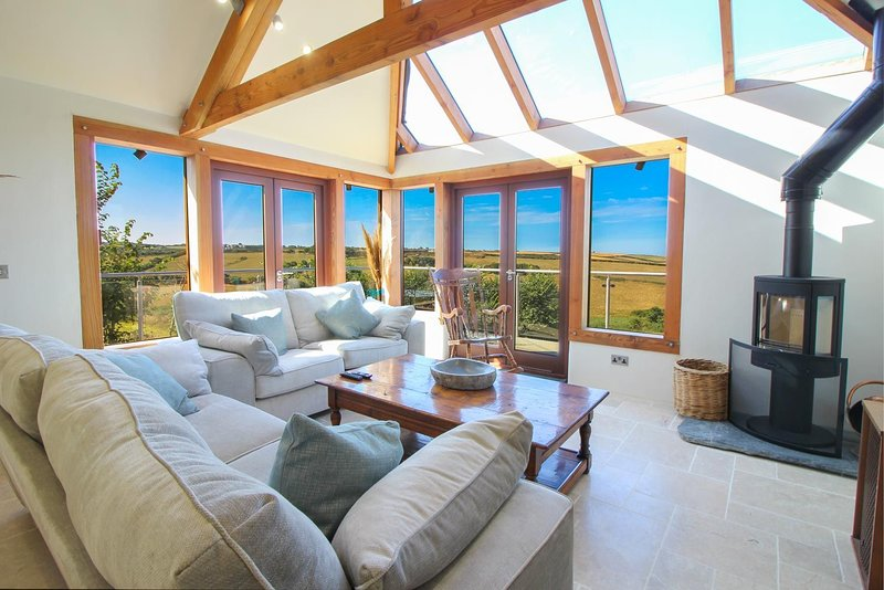 Scovarn House, holiday rental in Sithney