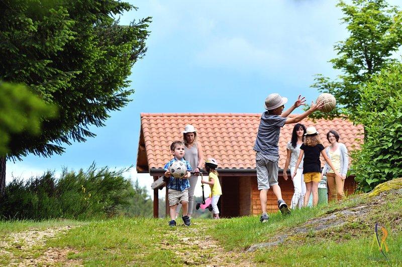 L'Orée du Pichier, chalets pleine nature, alquiler vacacional en Beauzac