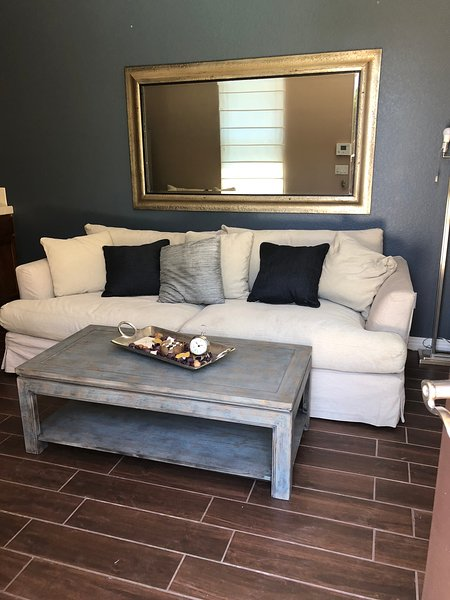 Living Room with Sleeper Couch