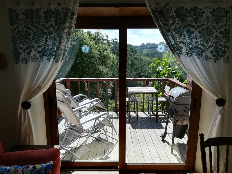 The Caribbean, converted stable studio at Quinta do Bom Vento, holiday rental in A Dos Francos