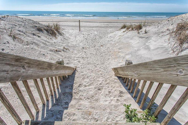 Acceso privado a la playa