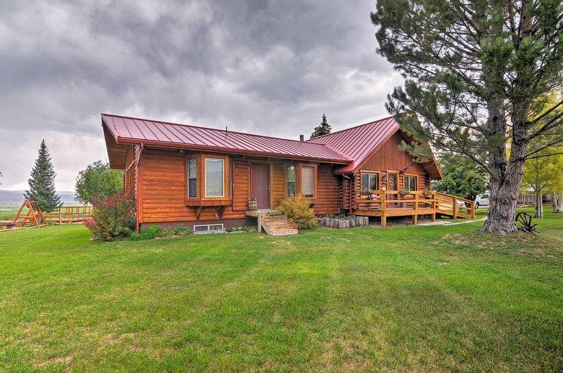Fuja para a natureza e hospede-se nesta cabana de aluguel de temporada.