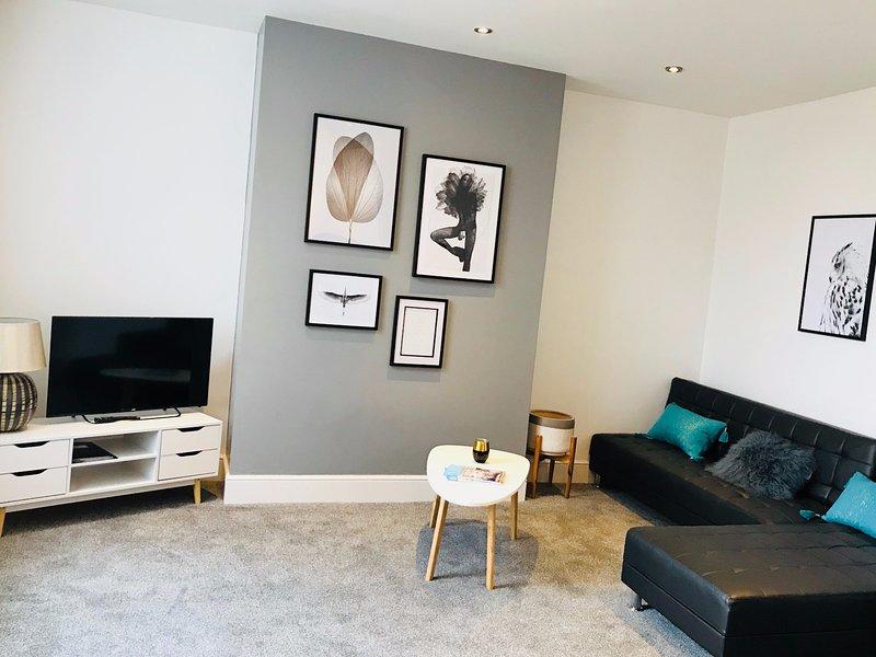 MyUKSuites - Street view 3 bedroom flat, alquiler de vacaciones en Kingston-upon-Hull