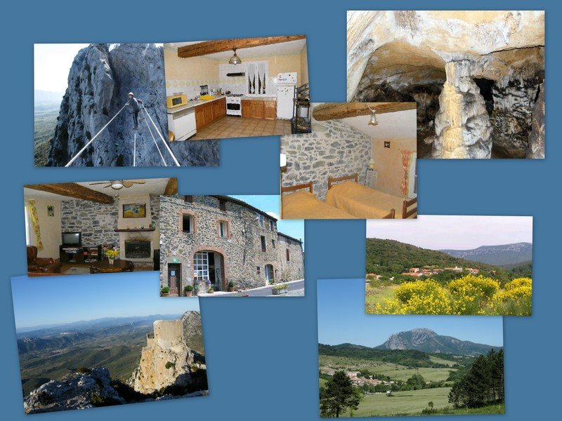Gites pour six personnes, holiday rental in Bugarach