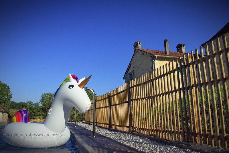 Le Terrier des Lapins| Gîte Dordogne Périgord vert, vacation rental in Mareuil