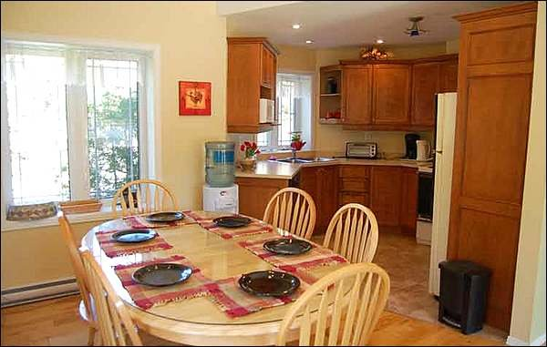 Lovely Dining and Kitchen Area