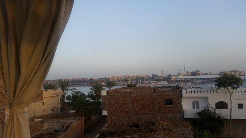 Nile utsikt från taket.