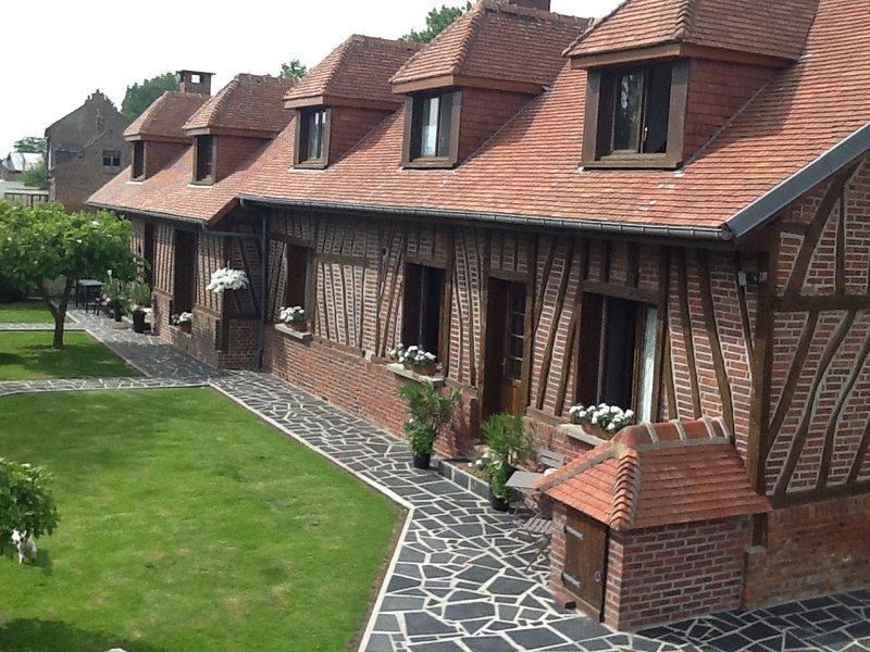 Les chambres d'hôtes de Paule, holiday rental in Poix-de-Picardie