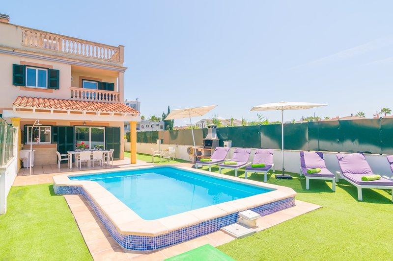 CASA MARCOS - Villa for 6 people in Port d'Alcúdia, Ferienwohnung in Port d'Alcúdia