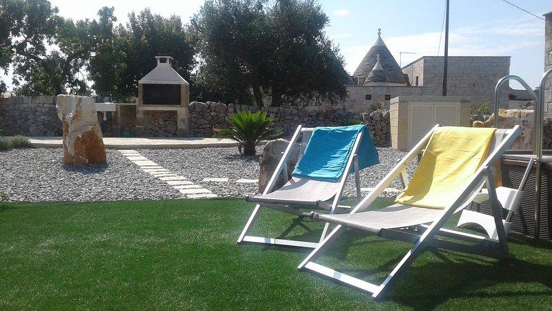 Trullo Terrarossa, alquiler de vacaciones en Cisternino