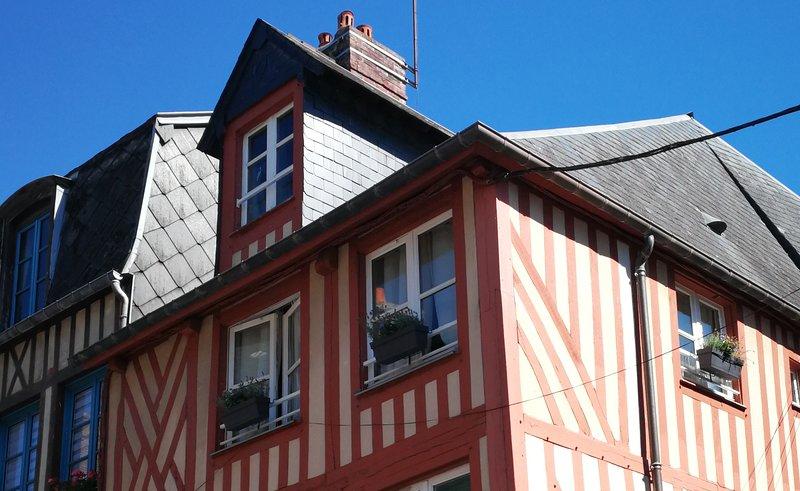 appartement duplex Honfleur, location de vacances à La Riviere-Saint-Sauveur