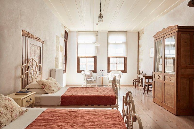 Junior Suite in Rethymno, vacation rental in Rethymnon