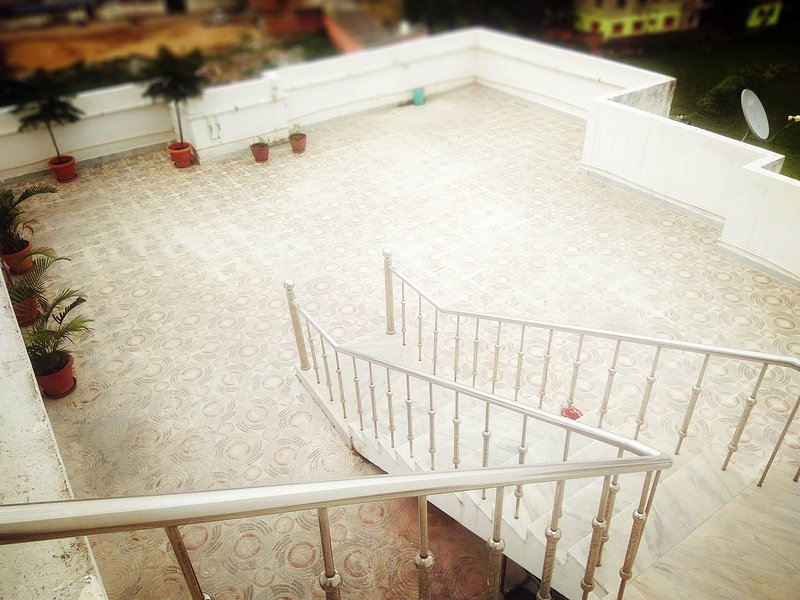 Open Terrace. Available at chargeable basis.