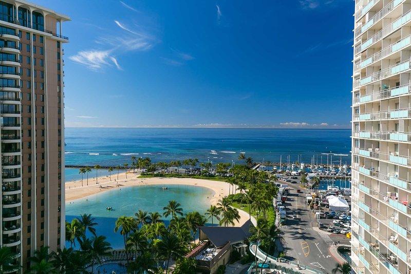 Ilikai 1418 2 Bed Room Luxury Remodel Ocean Lagoon