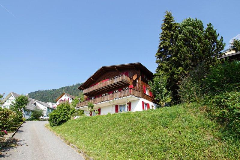 Chalet Sidonie, alquiler vacacional en Reichenburg