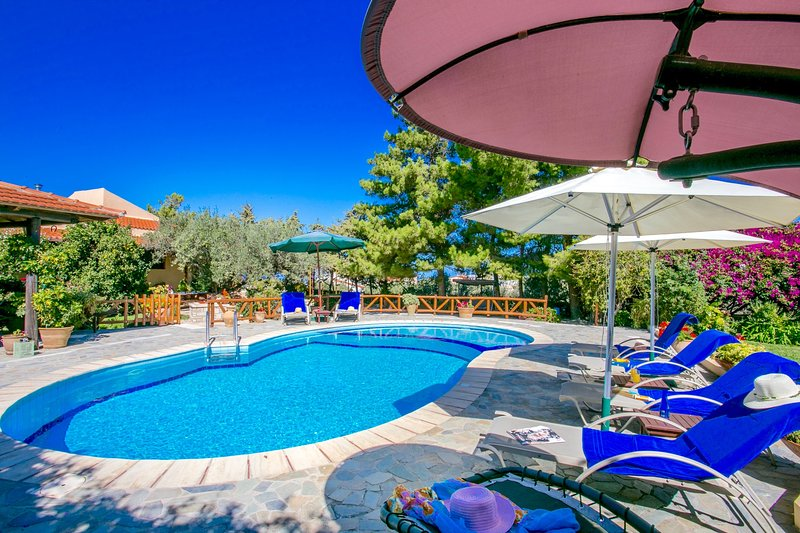 Villa Agapi with private swimming pool, holiday rental in Peza