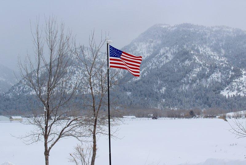 Invierno en Star Valley Lodge.