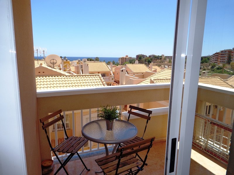 Penthouse Apartment Vistarina with Aircon & Pool – semesterbostad i Puerto de Mazarron