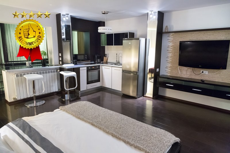 ♥️ CENTRAL CHARMING LUXURY STUDIO - WiFi - SPA SHOWER - 3min METRO & AMENITIES, vacation rental in Bucharest