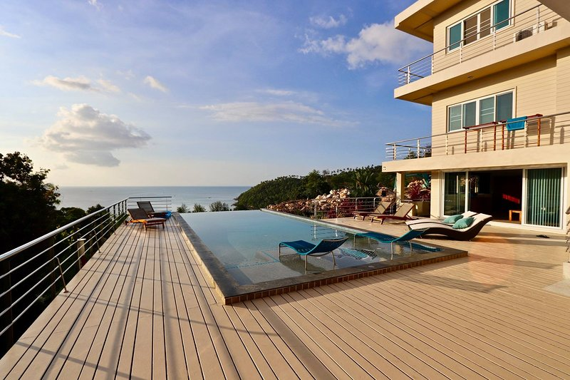 Koh Phangan- Stunning Ocean View -The Boathouse Villa Haad Salad, holiday rental in Ko Pha Ngan