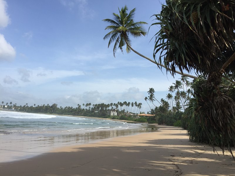 Praia de Pehebiya. Apenas 150m a pé