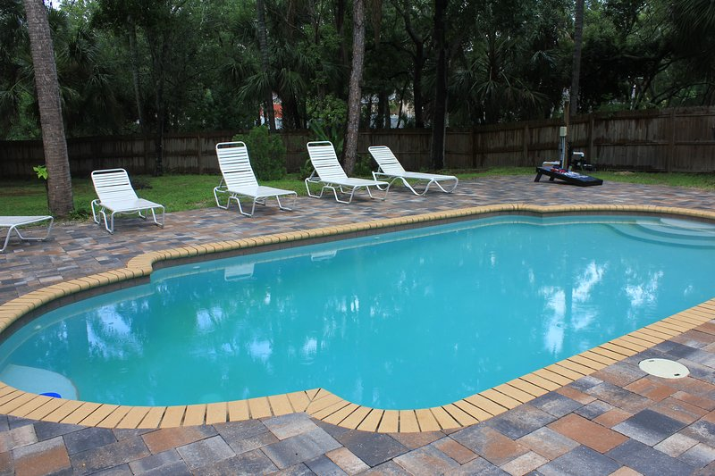 Relaxation at the Tropical Pool House, vacation rental in Tampa