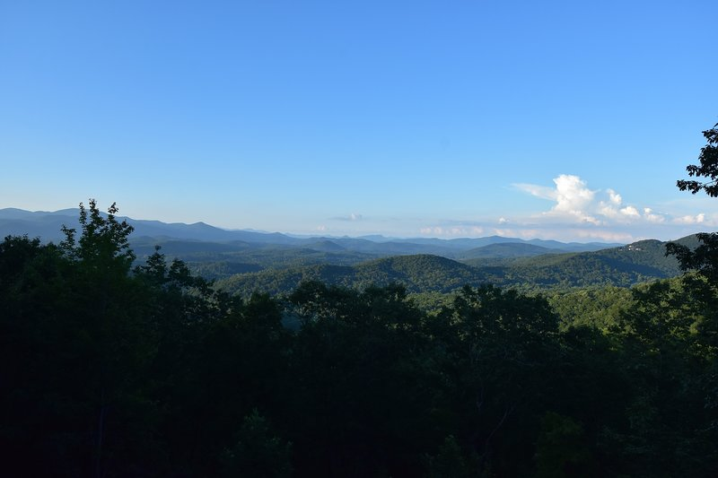 This is why they call them the BlueRidge Mountains