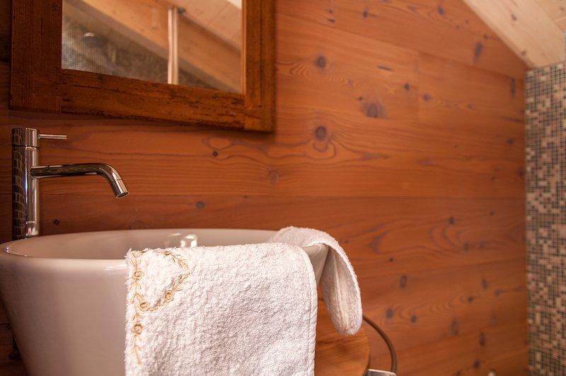 Mosaic bathroom detail