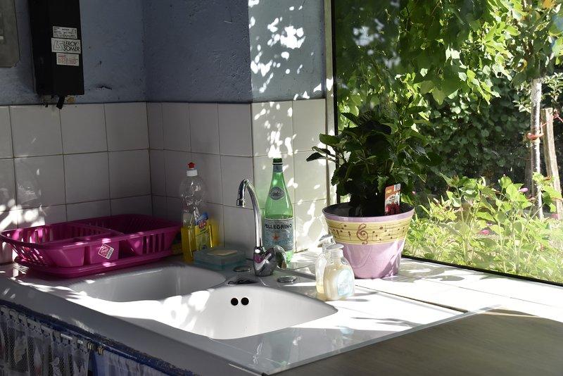 Cozinha de verão