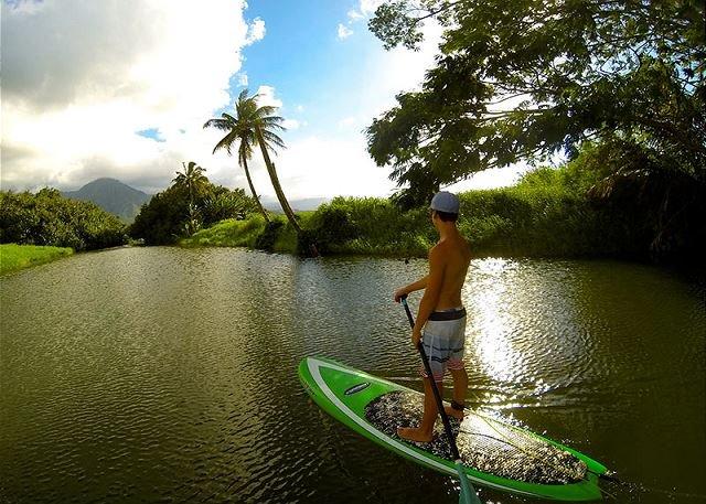 Hanalei River - 10 min drive