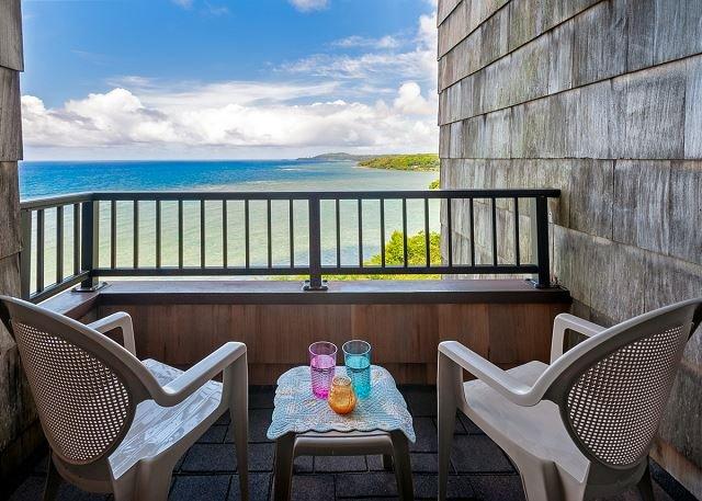 Kauai location vacances Sealodge E8 lanai