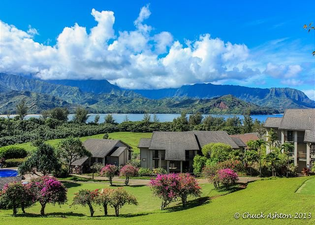 Utsikt över Hanalei Bay Resort