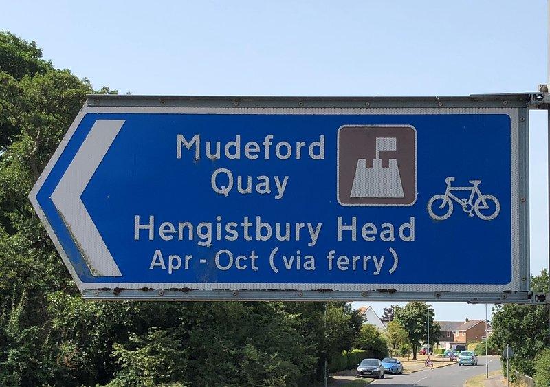 A short walk to Mudeford Quay and beaches