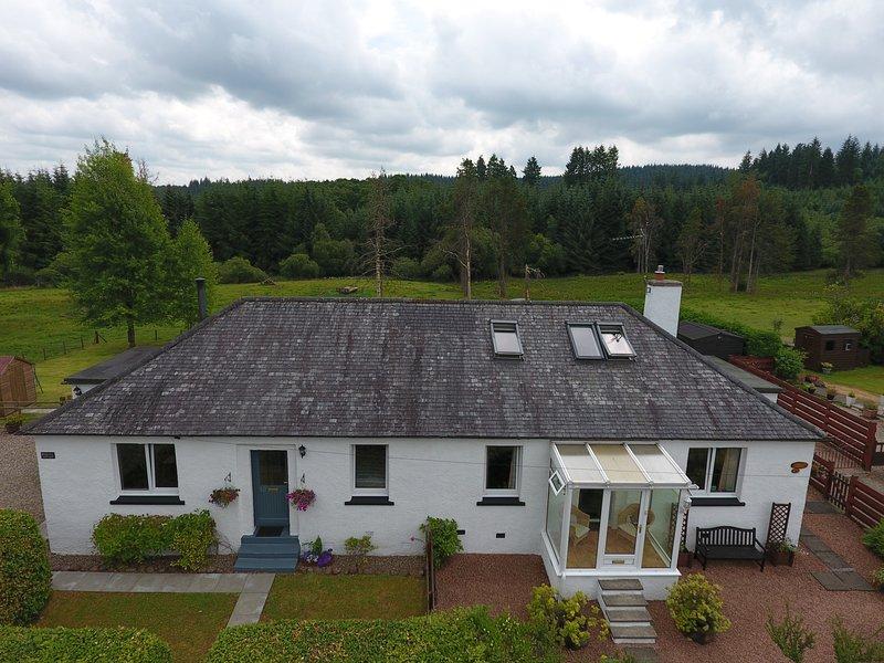 Benview Cottage, self catering cottage, Aberfoyle, The Trossachs, aluguéis de temporada em Kinlochard