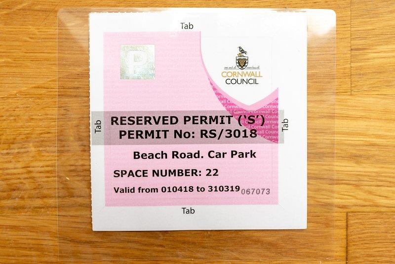 Parkerlaubnis (x2) für Ihren exklusiven Gebrauch während Ihres Aufenthalts - nur 50 m von Seaview